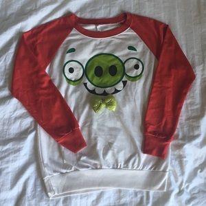 Angry Bird Long-Sleeved Sweatshirt